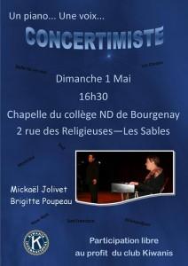 affiche concertimiste