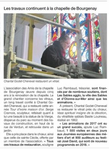 Article Ouest-France du 27 10 2017