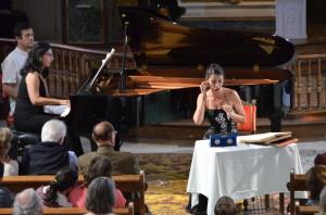 """Cécilia Arbel dans le célèbre """" Air des bijoux """" de Faust"""