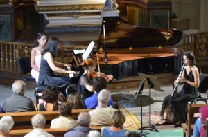 """Katchaturian : """" trio pour clarinette, violon, et piano """""""